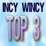 top 3 chez Incy Wincy