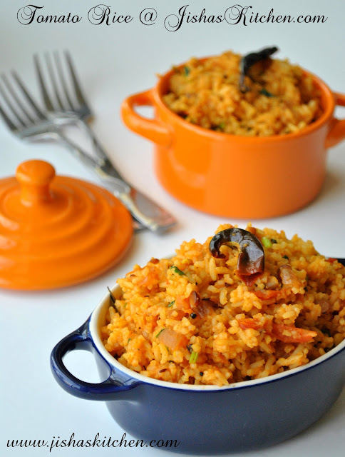 Jishas kitchen tomato rice indian recipes kerala nadan today i am sharing the recipe of tomato rice which is an easy delicious and spicy dish forumfinder Gallery