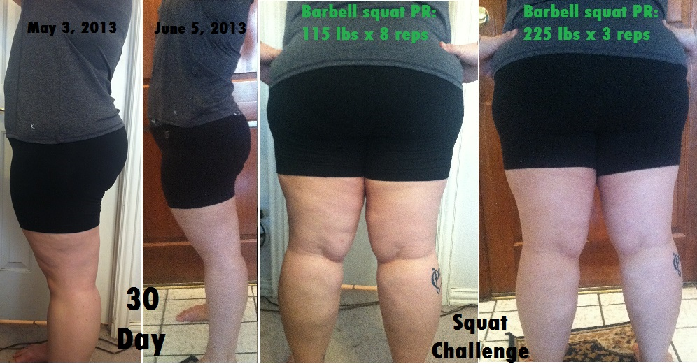 Squats Before And After The Incredible ...