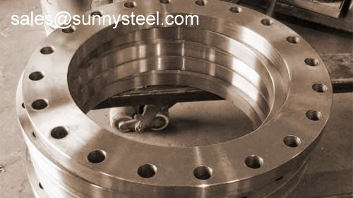 Pipe flange ring type joint