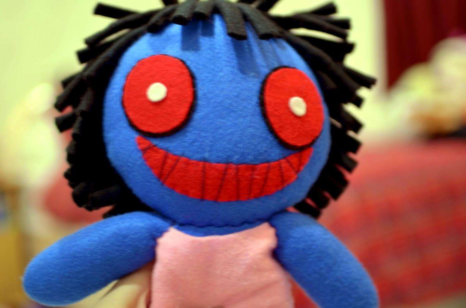 Handmade Blue Doll (Ib game)