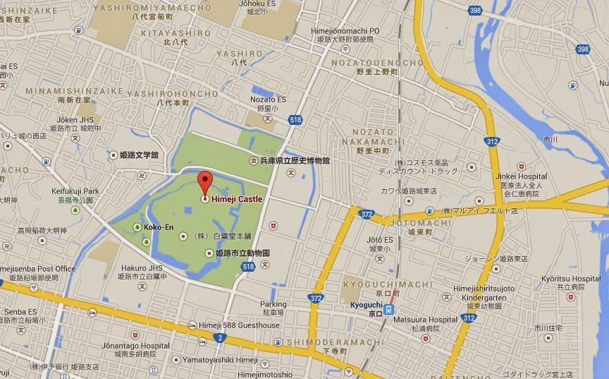 Travel Ideas Japan Tourists spots Himeji Castle