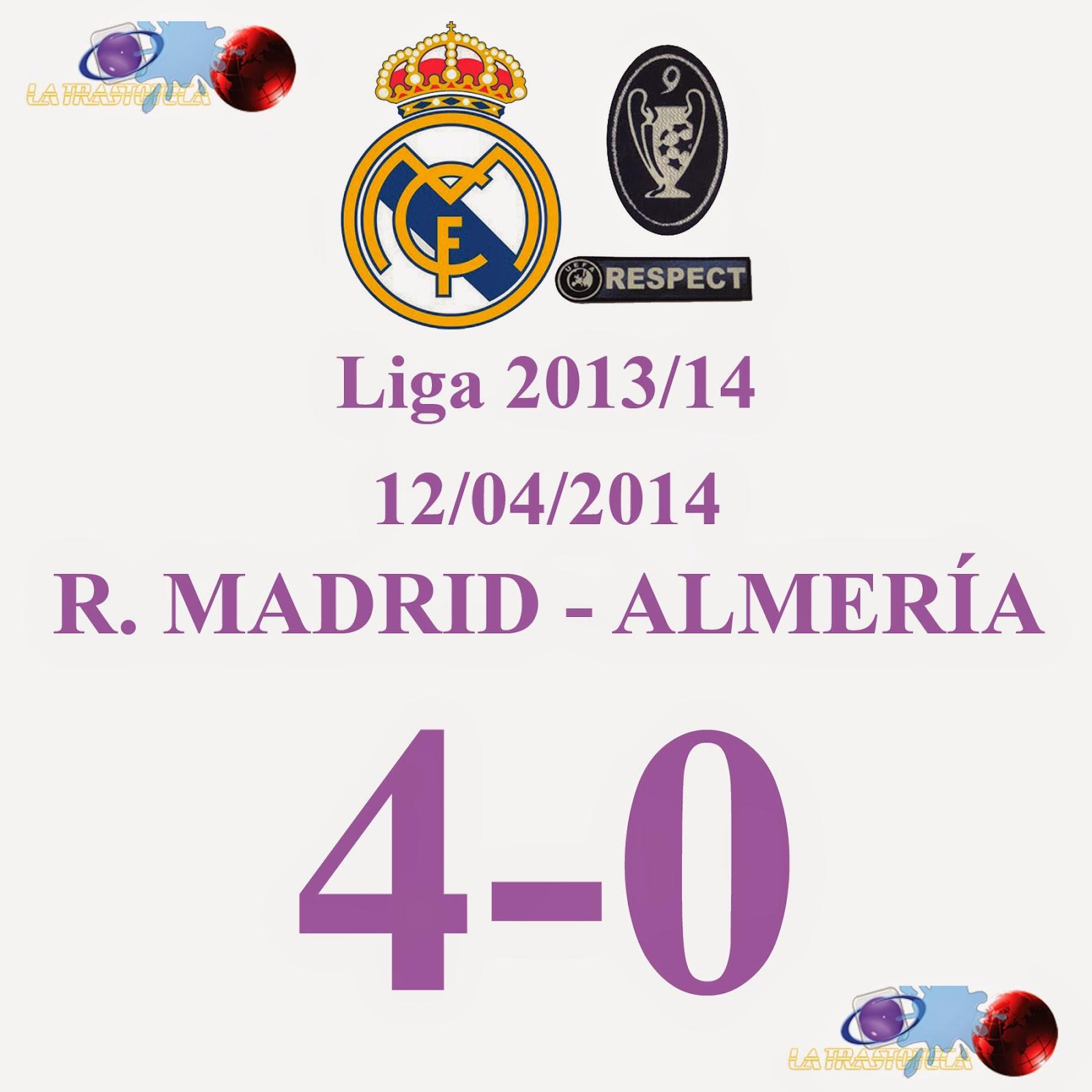 A. Morata (4-0) Jornada 33 - 12/04/2014
