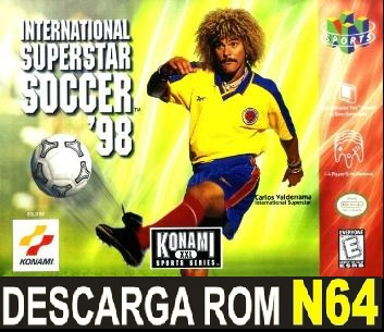 International Superstar Soccer 98 64 ROMs Nintendo64