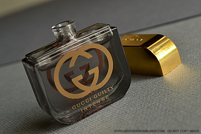 Gucci Guilty Intense Eau de Parfum EDP Designer Perfume Fragrance for Women Deluxe Sampler Coffret Indian Beauty Makeup Blog Ingredients Reviews Best Winter Night Perfume Ingredients