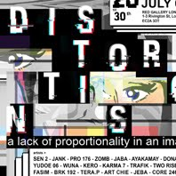 6/07/2016 Distortions / Red Gallery / Group Show / London 2016