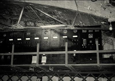 cuadro electrico fabrica clot del moro asland abandono tren cement cemento