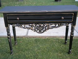entryway table...SOLD