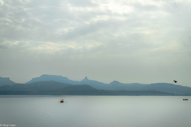 View of Bhandardara dam