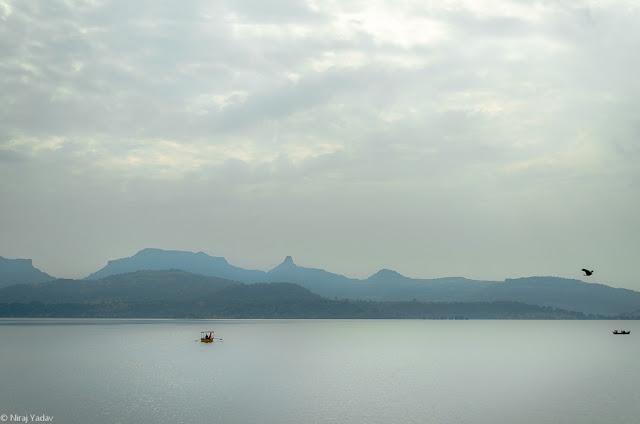 View of Bhandardara dam