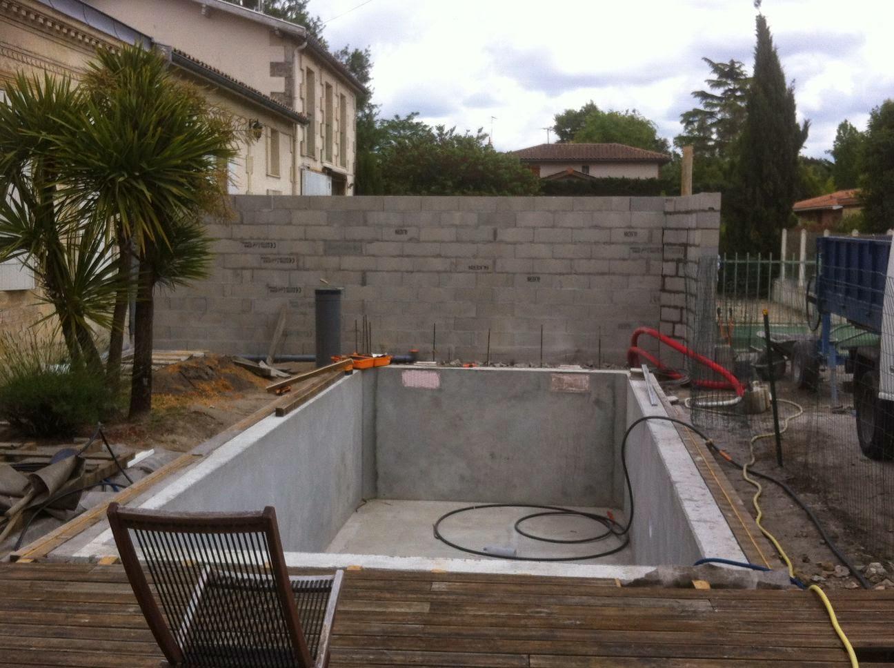 Projet tapes de construction d 39 une piscine en for Construction piscine gironde