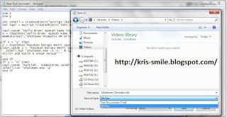 Membuat aplikasi Shutdown otomatis sendiri dan dapat berbicara1