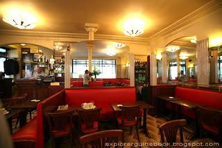 Cafe de Flore Interior