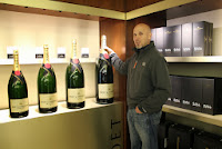 Gift shop at Moet & Chandon, Epernay, France