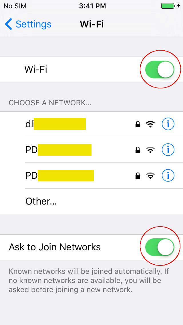 Study Swift: Enable Wi-Fi AP list when starting an app