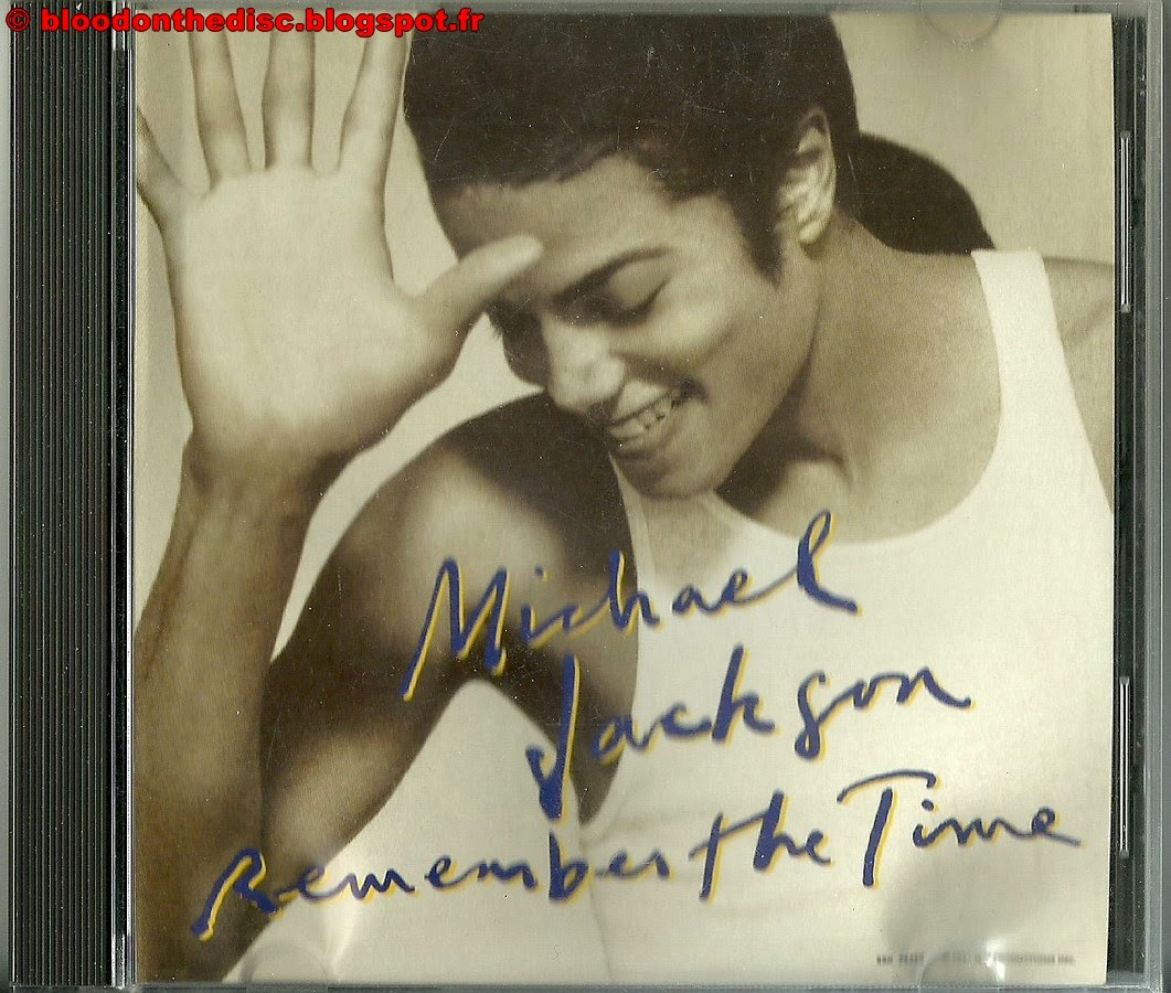 Remember The Time CD Promo Américain