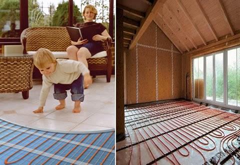 Experimentos sencillos para hacer en casa los v deos de - Calefaccion por el suelo ...