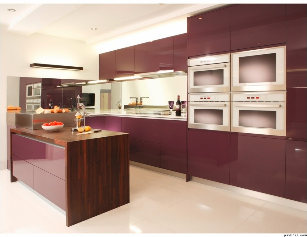L shaped kitchen with island ideas for Kitchen designs with pictures