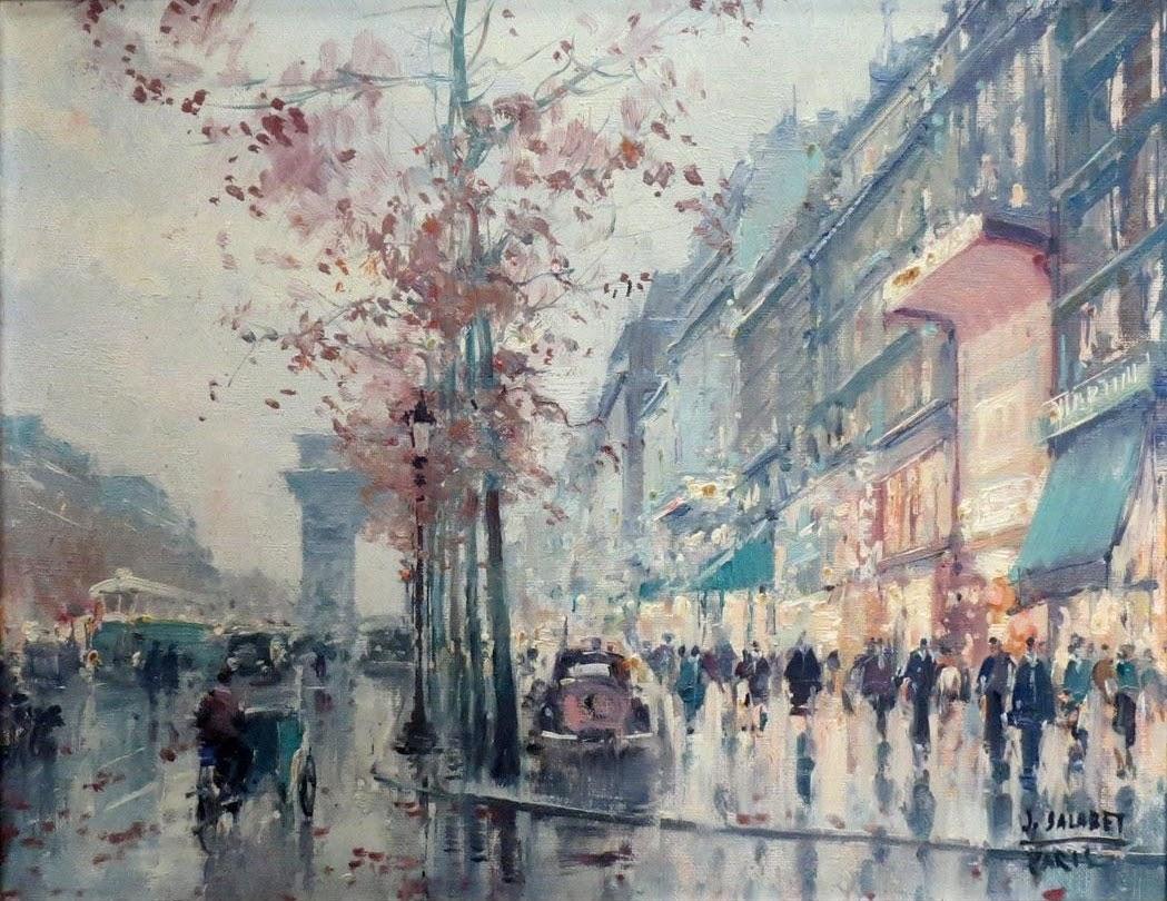 Jean Salabet Avenue des Champs Elysees