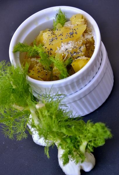 minestra di finocchi e patate