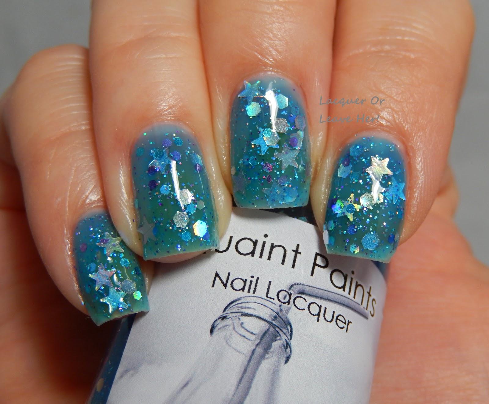 Quaint Paints Quantum Fizz-ics