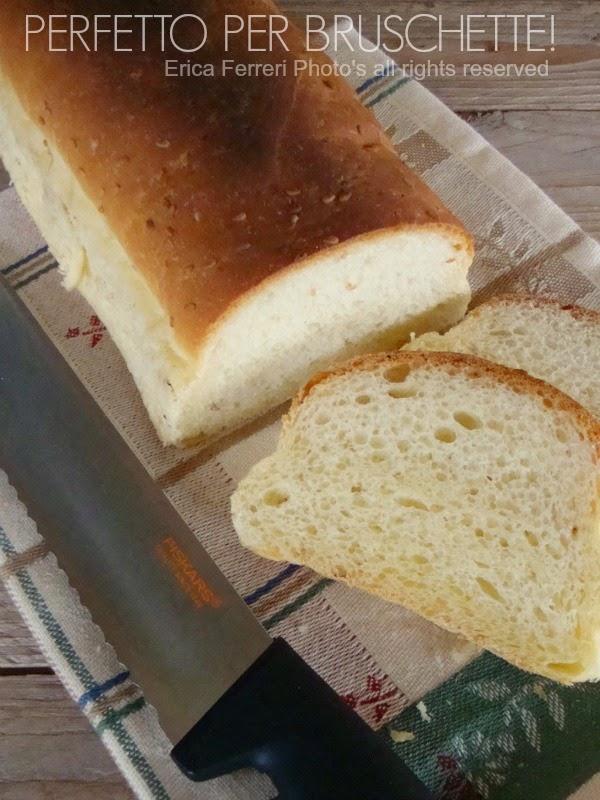 ricetta del pane di semola di grano duro