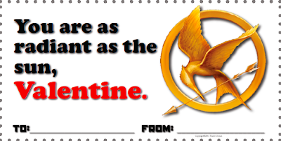 Hunger Games Valentines - Free Download www.hungergameslessons.com