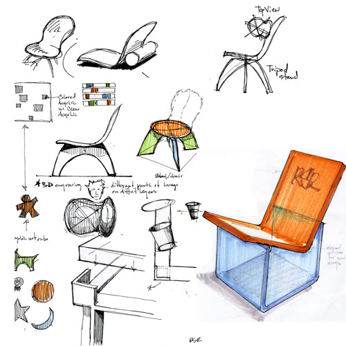 Ordinaire Chair Design Drawing ...
