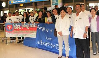 Kyaw Thu & Shwe Zi Kwet – ဦးေက်ာ္သူႏွင့္ ေဒၚေရႊဇီးကြက္တို႔  အေမရိကန္ျပည္ေထာင္စုသို႔ ေရာက္ရွိ