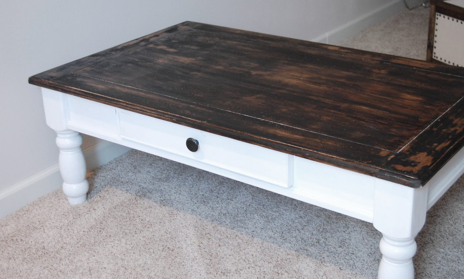 on the v side from crappy to clean crisp cottage a coffee table story