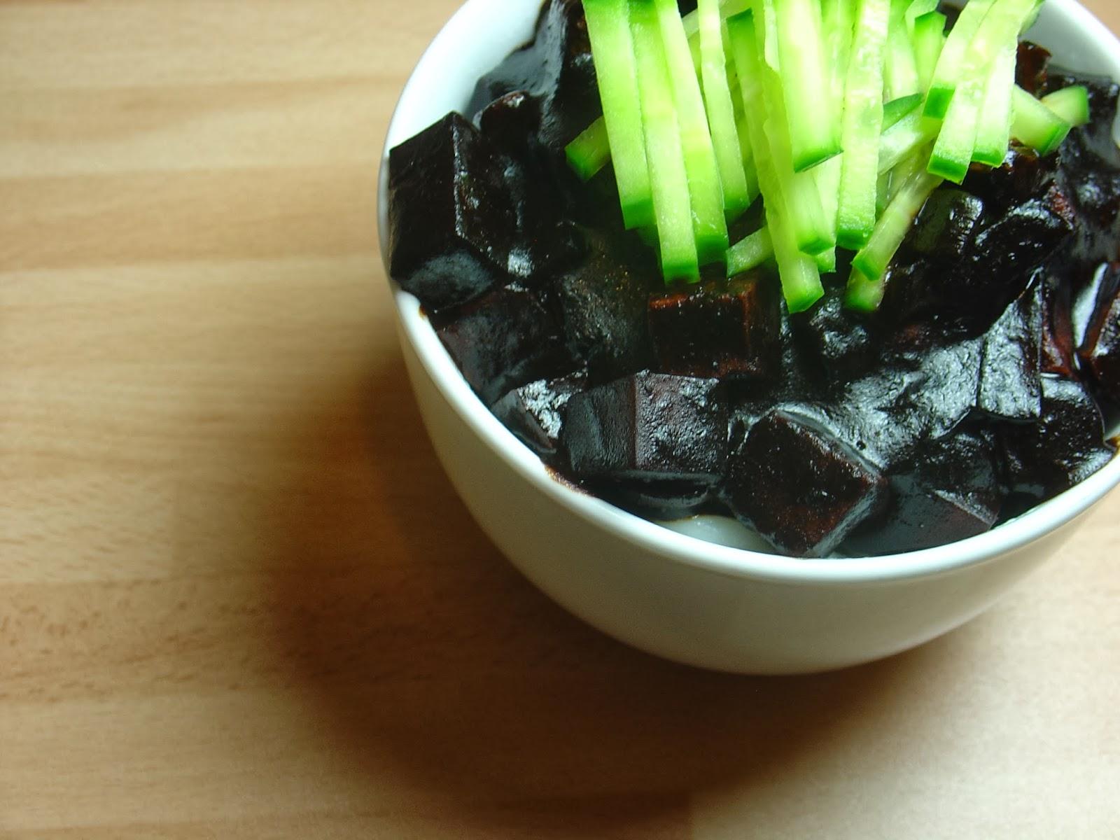 Vegan Jjajangmyeon, Korean-Chinese Black Bean Noodles