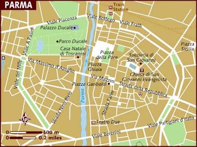 Mappa Politica di Parma