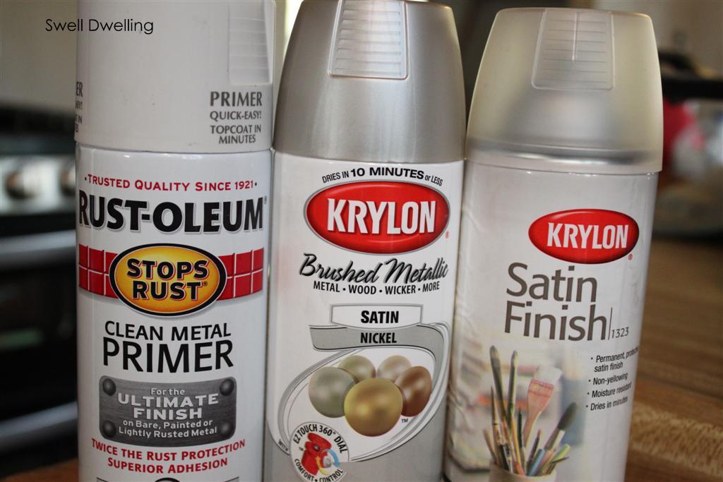 Rust Oleum Metallic Spray Paint And Primer