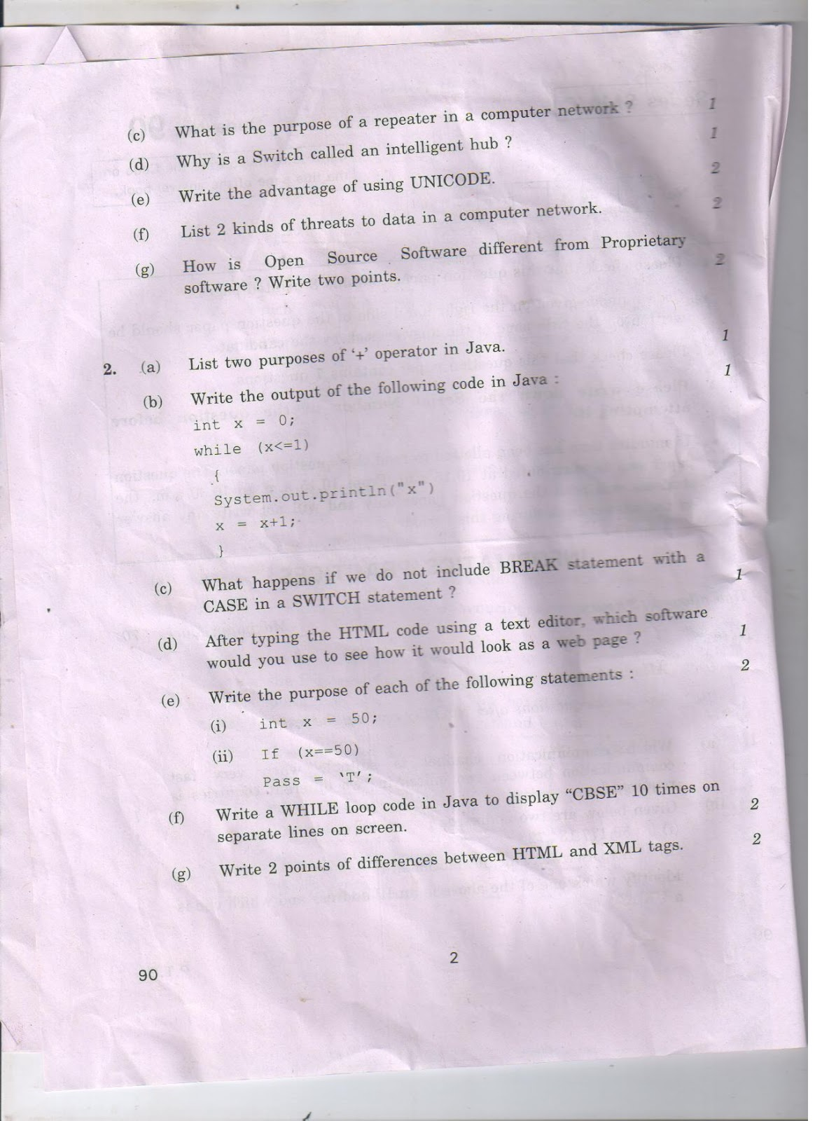 how to writing paper printable