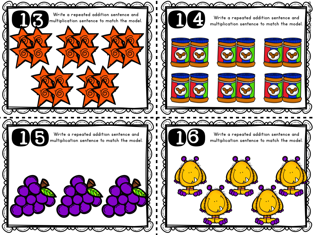 First school years addition worksheets