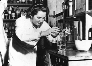 Margaret Thatcher en 1951. Crédito: The Royal Society