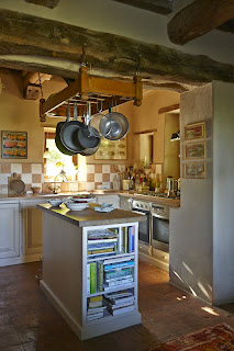 Pergolaccio country kitchen in Umbria