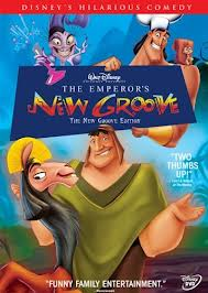 DVD artwork The Emperor's New Groove 2000 animatedfilmreviews.blogspot.com