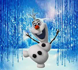 Gambar Olaf Frozen gratis