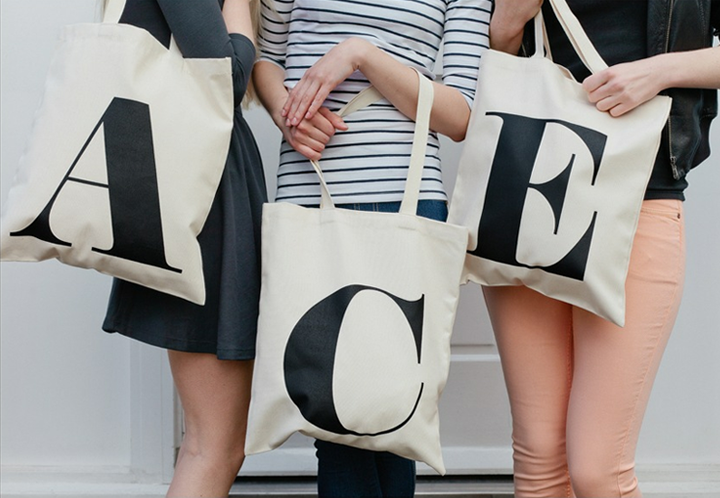 "Charming Tote Bags by ""Alphabet Bags"" ♥ Чаровни чанти от ..."