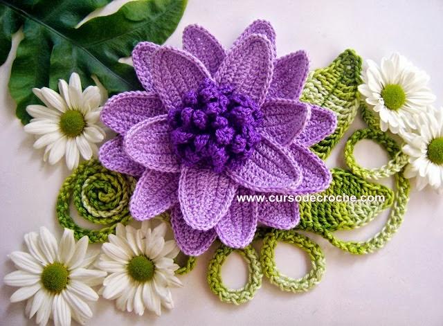 coleção de flores em croche dvd 5 volumes da coleção aprendi e ensinei com edinir-croche video-aulas blog loja frete gratis
