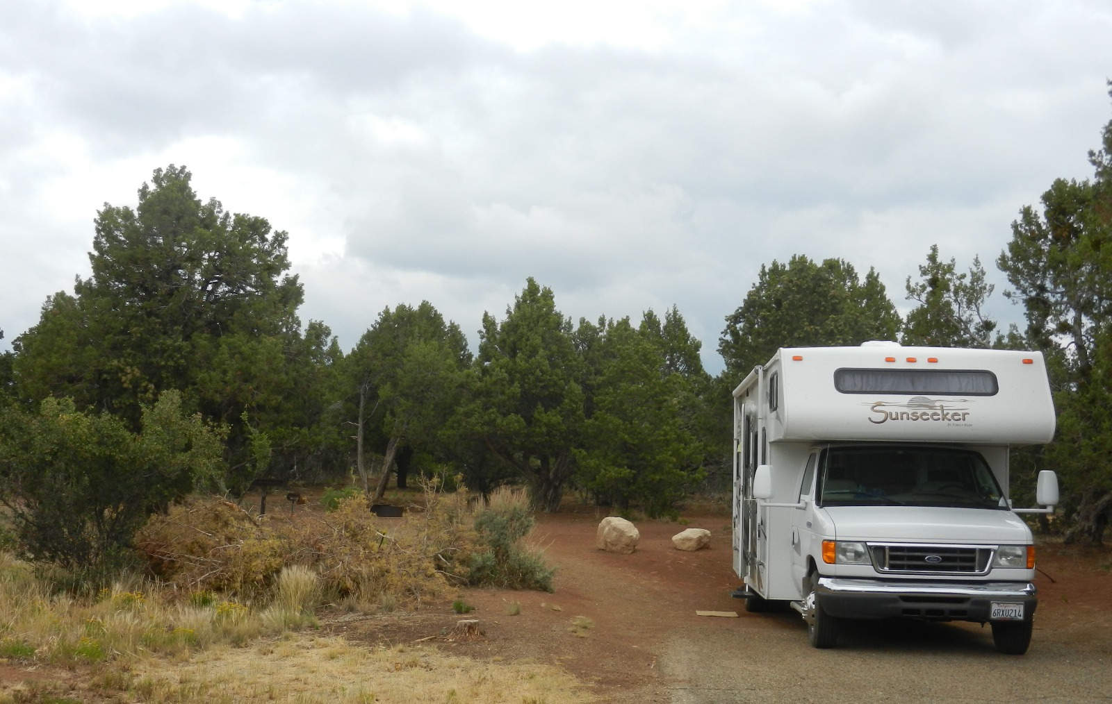 Me And My Dog And My Rv Settled Again At Mcphee