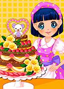 Торт на День Рождения - Онлайн игра для девочек