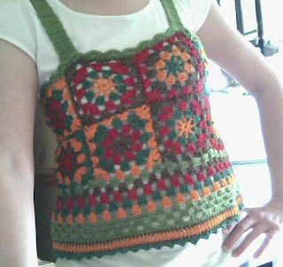 granny square top