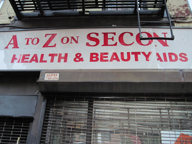 A health and beauty store in New York.