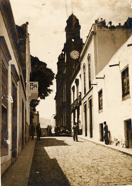 Imagen nº 16017 propiedad del archivo de fotografía histórica de la FEDAC/CABILDO DE GRAN CANARIA. Realizada entre los años 1950 y 1955. Fotógrafo; sin identificar.