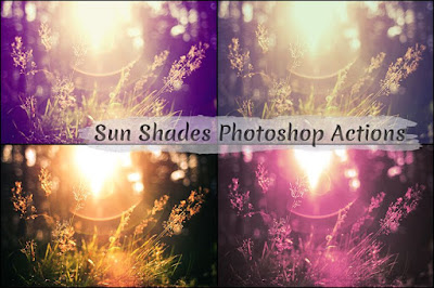 Free Sun Shades Photoshop Actions