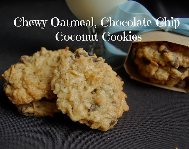 how to make chewy chocolate oatmeal cookies