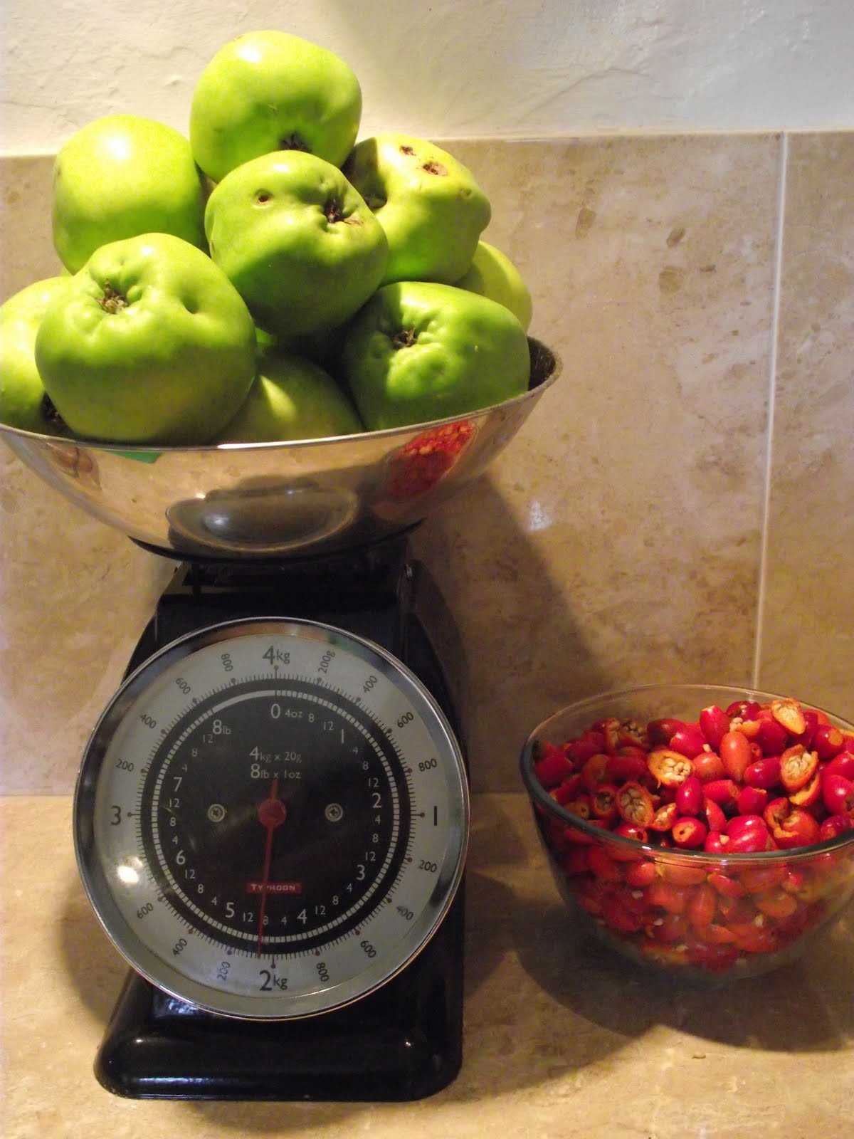 The pasture times rosehip and apple jelly - What to do with rosehips jelly and vinegar ...