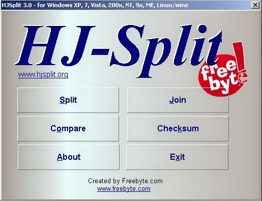 Download HJSplit 3.0 Portable